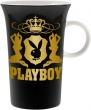 Drinkbeker playboy black and gold