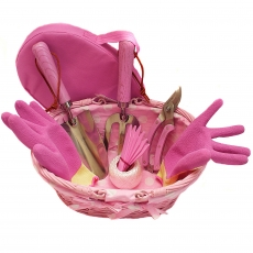 Roze tuinset