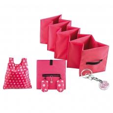 Roze boodschappenhulp