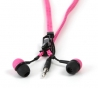 Zip oortjes untangled ipod pink